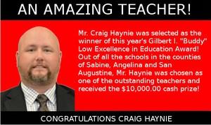 Picture of Craig Haynie