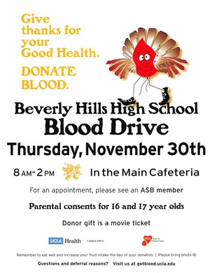 BHHS Annual Blood Drive