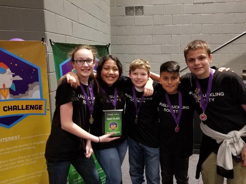Destination Imagination Team State Winners