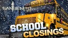 School closed on wednesday january 17 due to weather.