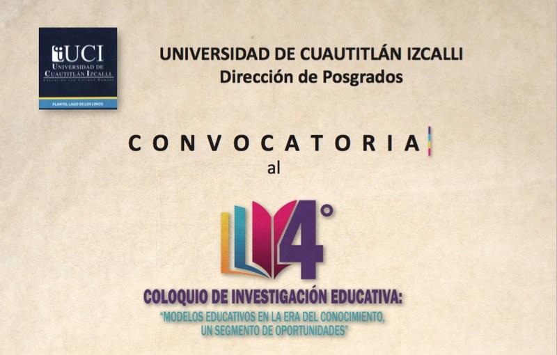4to. Coloquio de Investigación Educativa Featured Photo
