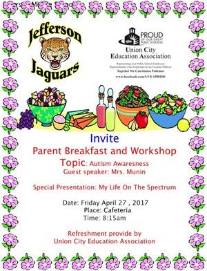 autism awareness flyer