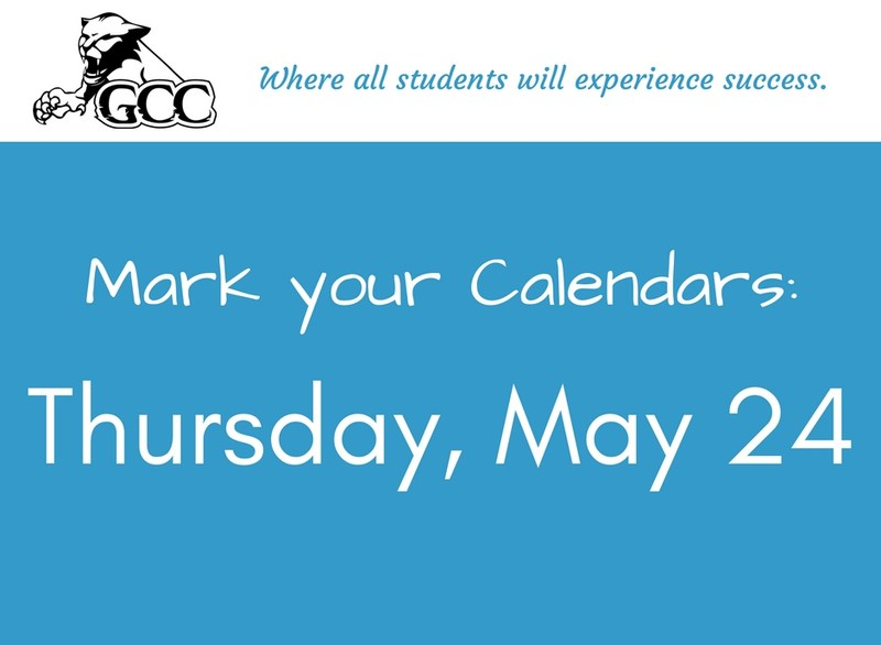 Mark Your Calendars: Thursday, May 24