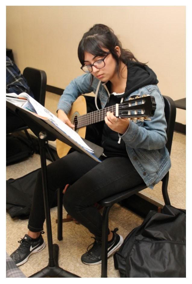 16-17 Pioneer High School Guitar- J.Meza