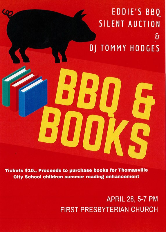 BBQ for Books fundraiser image