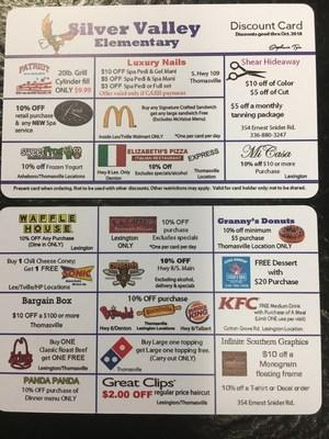 Silver Valley Discount Card