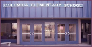 columbia elementary school entrance