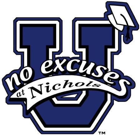 No Excuses University logo for Nichols