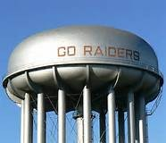 Red Raiders water tank