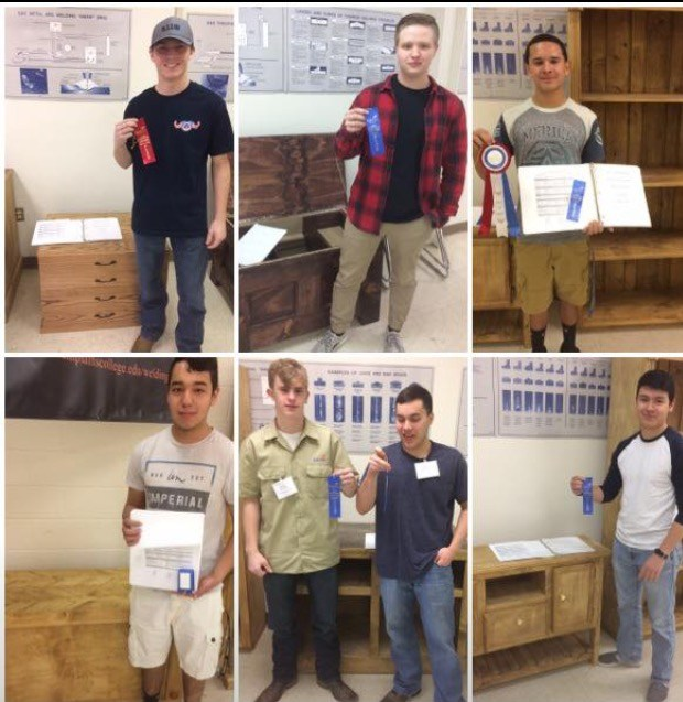 SkillsUSA Competitors Advance to State! Thumbnail Image