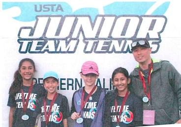 Junior Team Tennis Logo