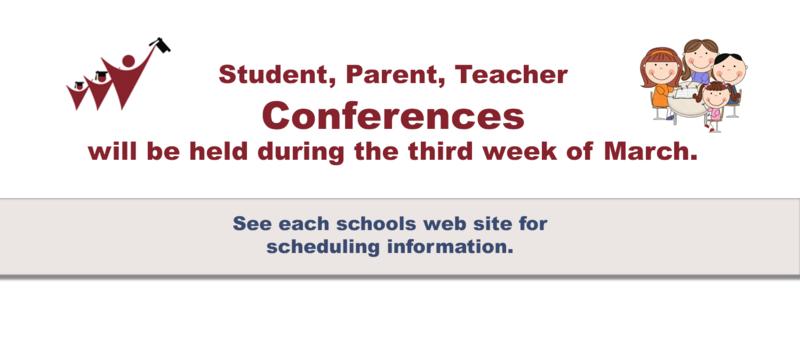 STUDENT, PARENT, TEACHER CONFERENCES Thumbnail Image