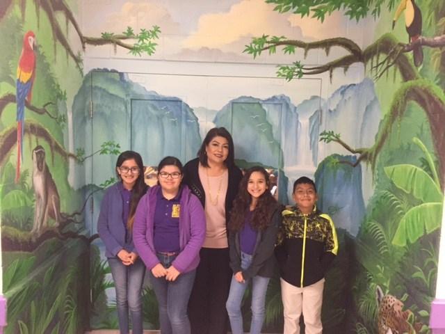 Thank you for your Service!! Principal's Cabinet 12/11/17-1/12/18 Krysta Serrata, Bindi Vasquez,  Emily Farias, Enrique Cordova
