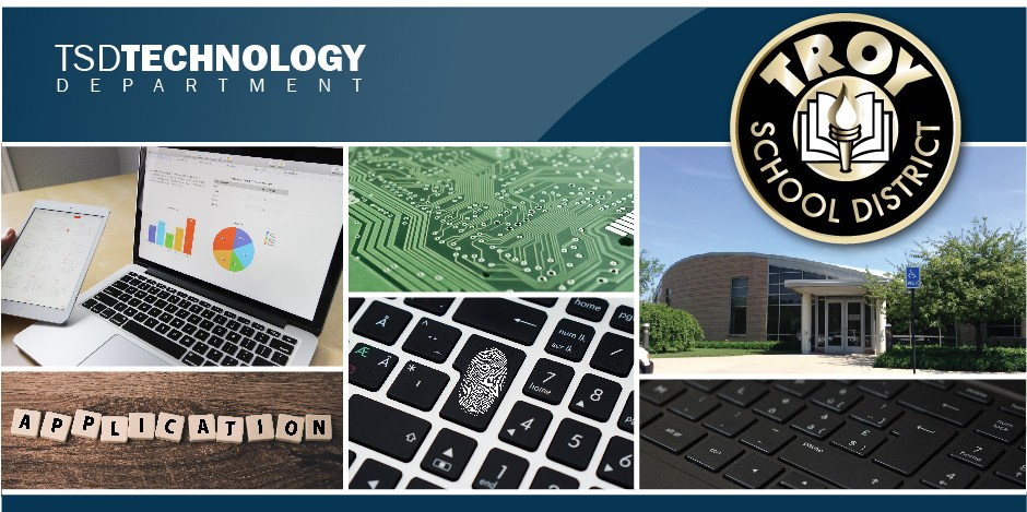 Technology main page header.  This is a design element.