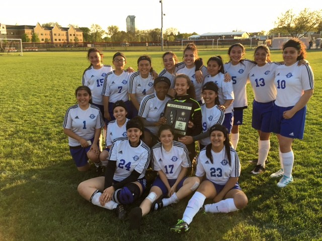 Girls' soccer team wins first-ever regional title Featured Photo