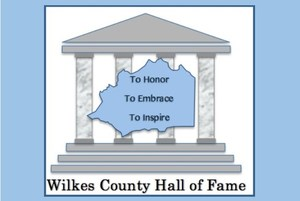Wilkes County Hall of Fame Logo