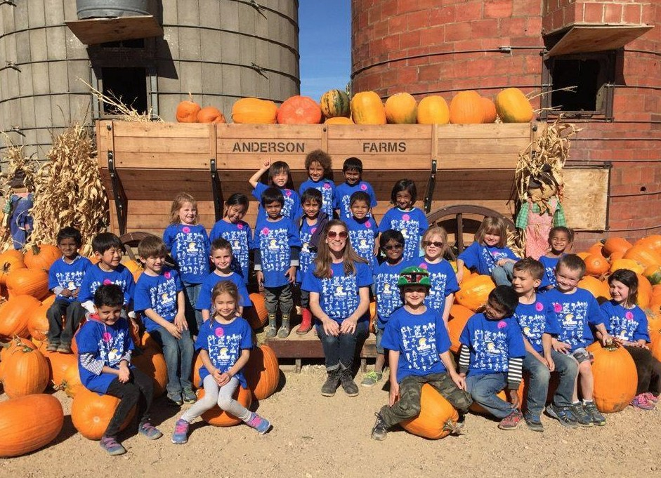 elementary fall day