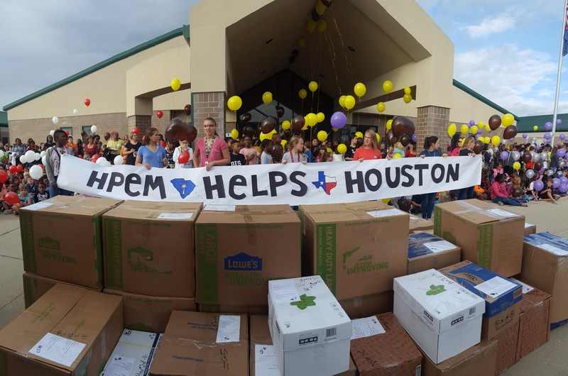 H-P Helps Houston Thumbnail Image
