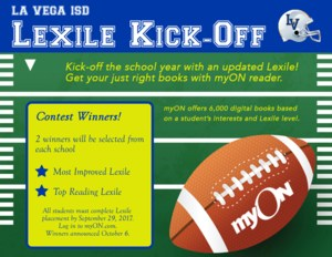 myOn Reader Lexile Contest Kick-Off Thumbnail Image