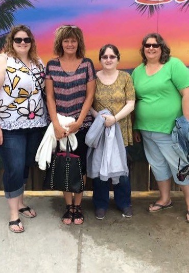 Trip to the beach with Mrs. Gulley, Ms. Harpel, and Mrs. Clever.