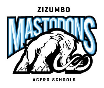 The school logo, which depicts a mastadon in front of the word Mastadon.