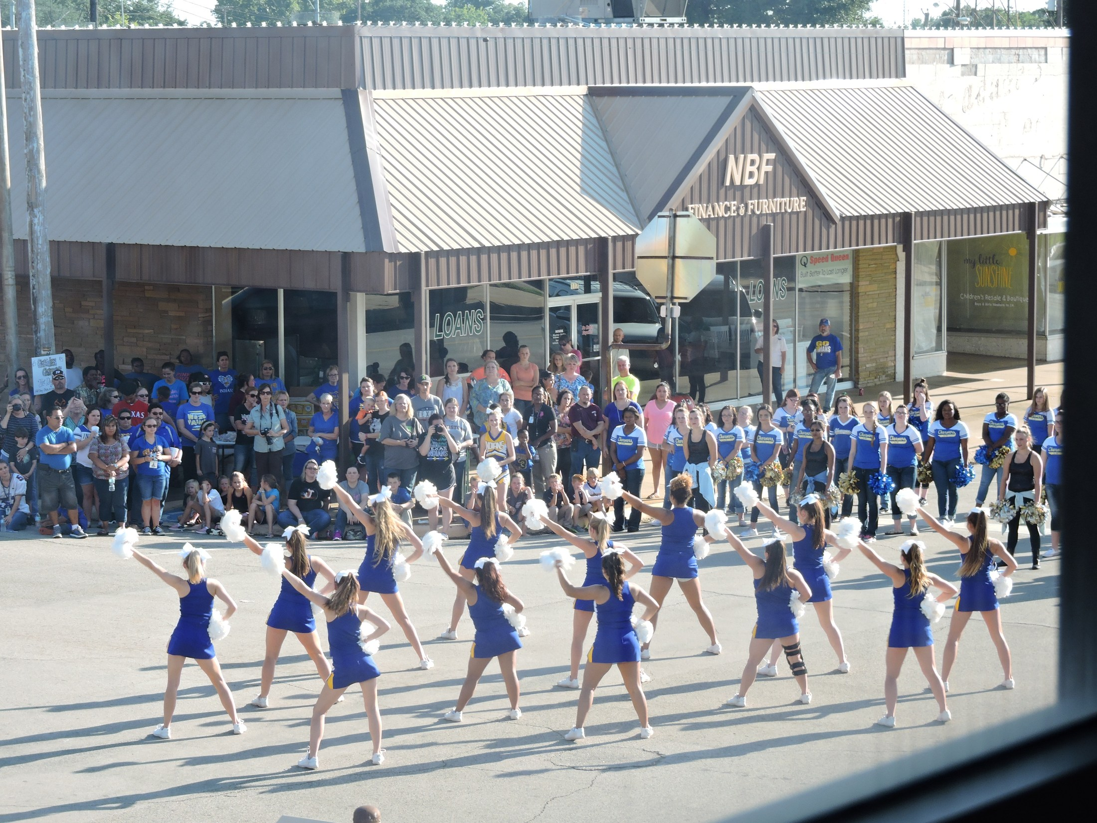 downtown pep rally