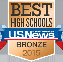 US News Best High School Bronze Award