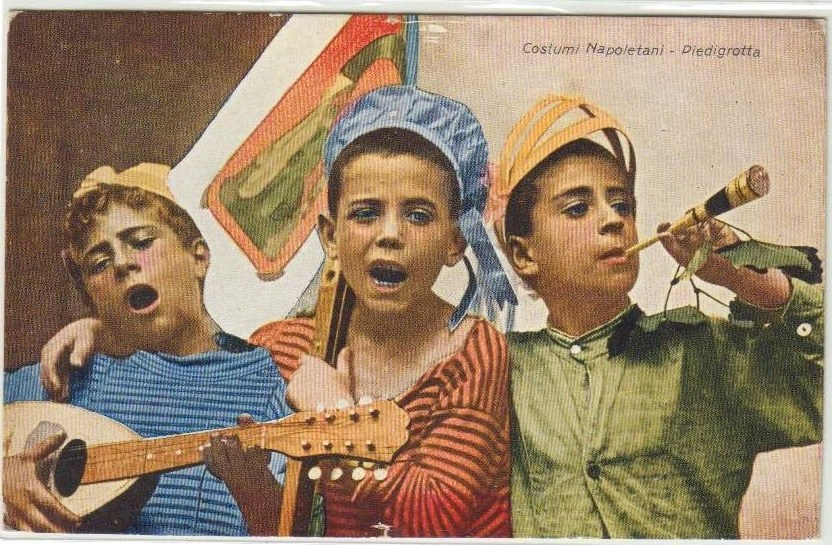 Picture of children playing and singing