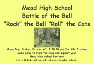 Battle of the Bell Shirt Order Form