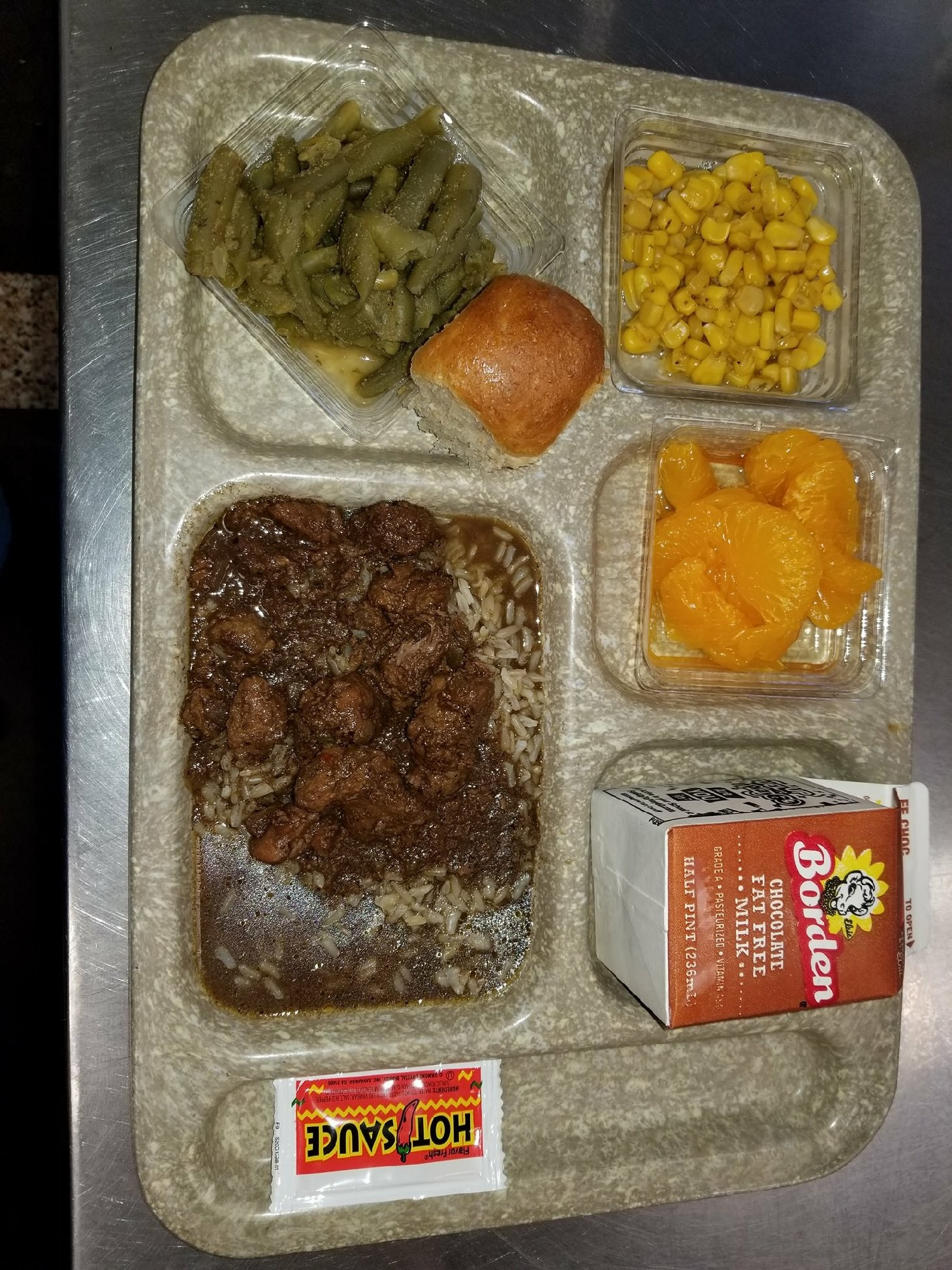 Beef Stew lunch tray