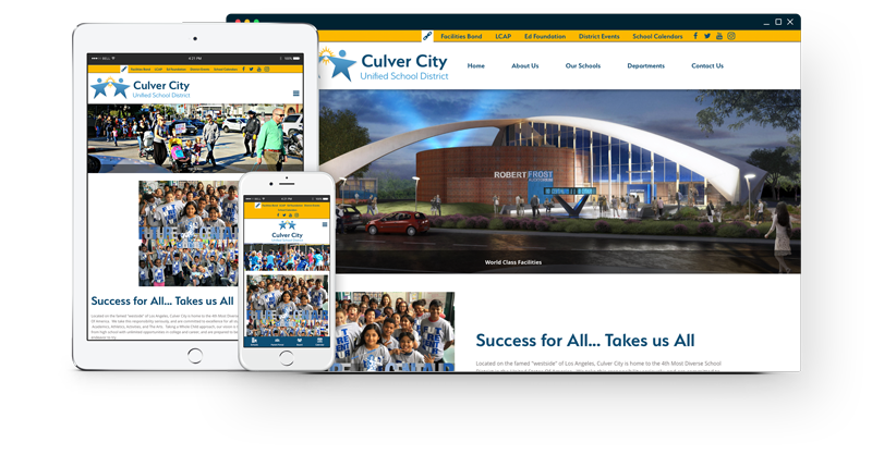 Culver City USD Website