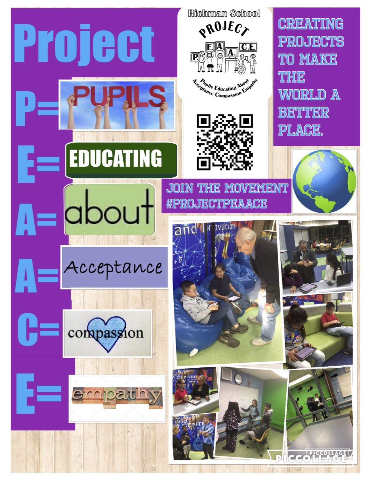 Poster of PEAACE Program
