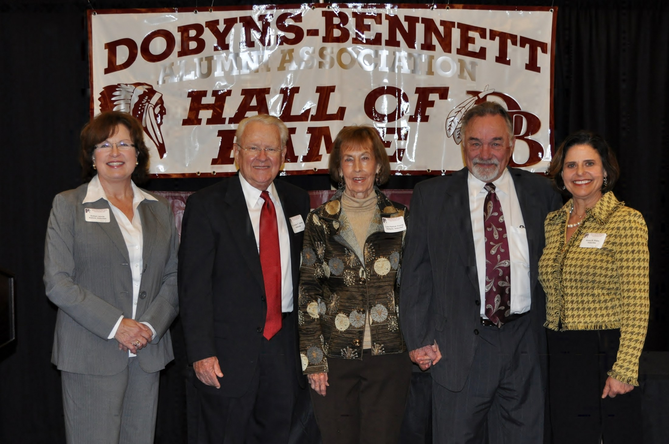 7th Annual Dobyns-Bennett Alumni Hall of Fame Inductees: (5 of 6)