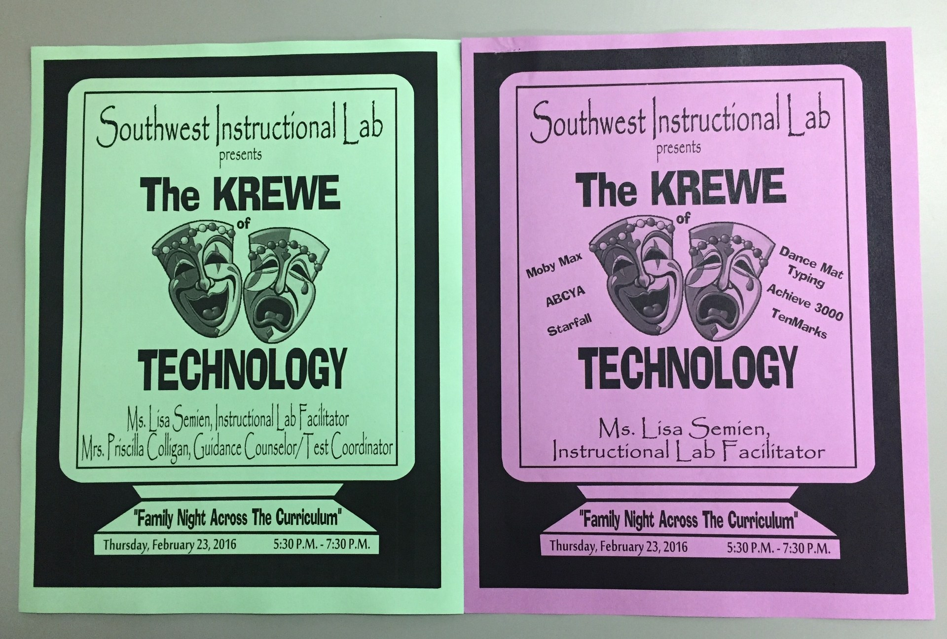 Krewe of Technology Cover Sheet