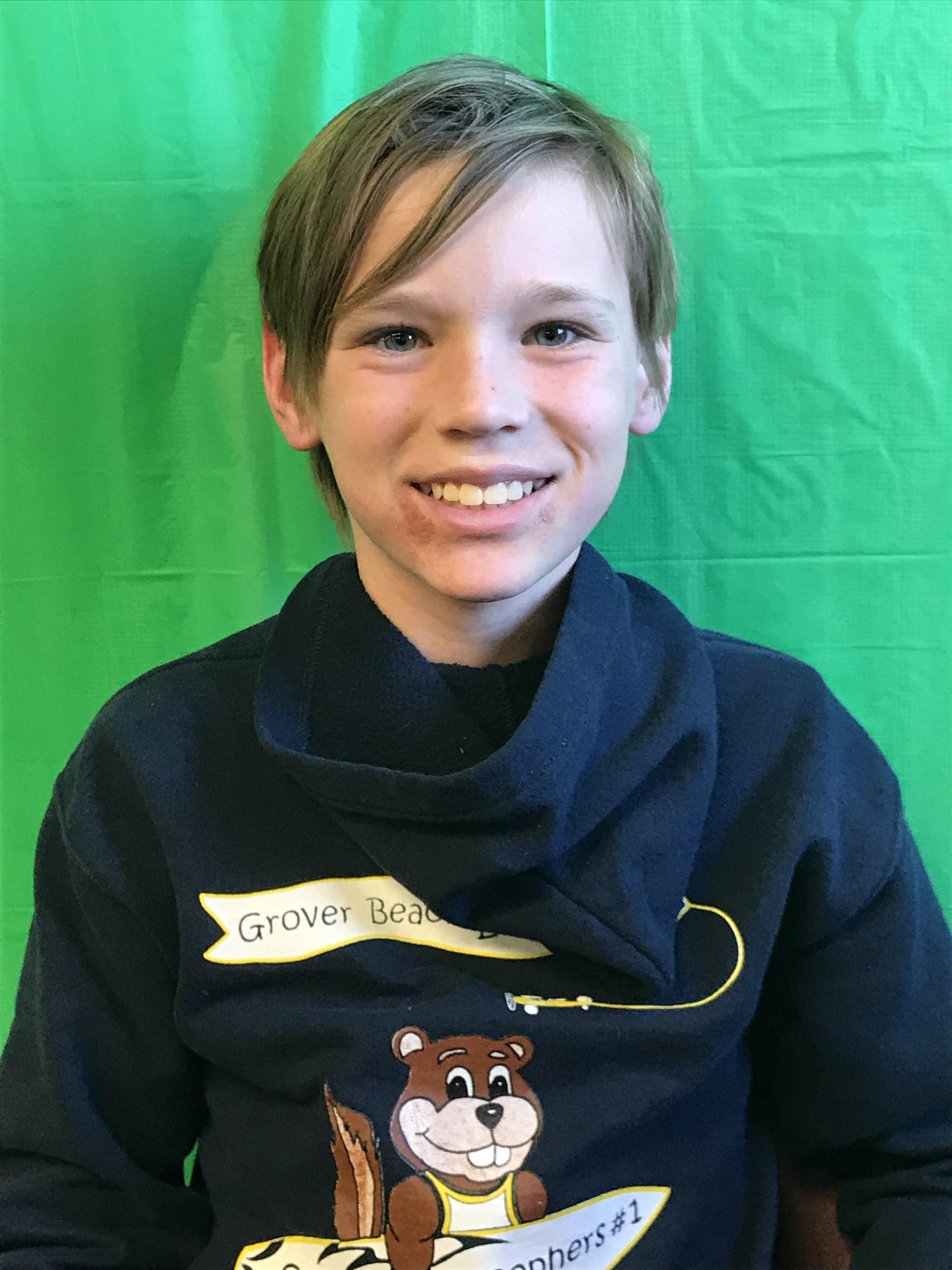 Photo of 6th grade student
