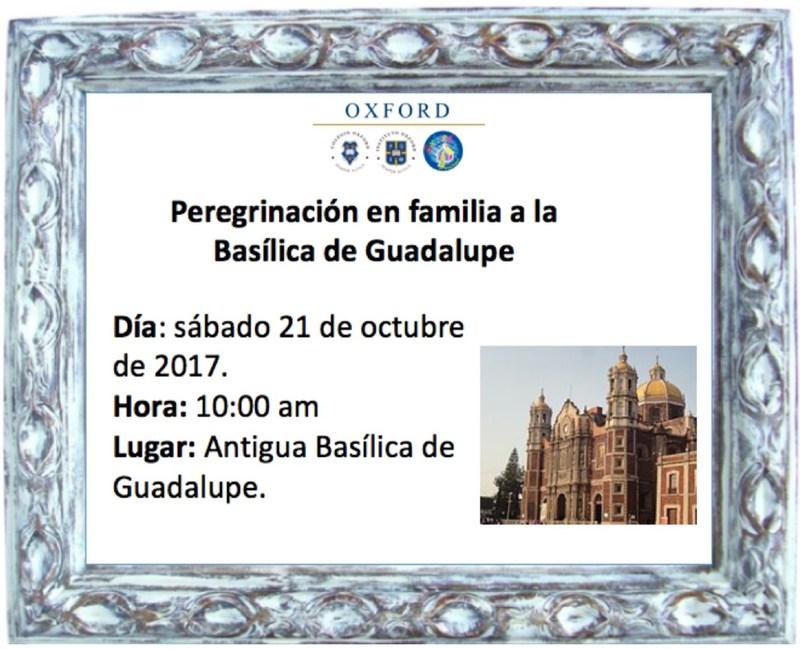 Peregrinación en familia a la Basílica de Guadalupe Featured Photo
