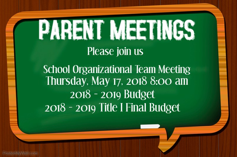 Title I Budget - SOT Meetings Thumbnail Image