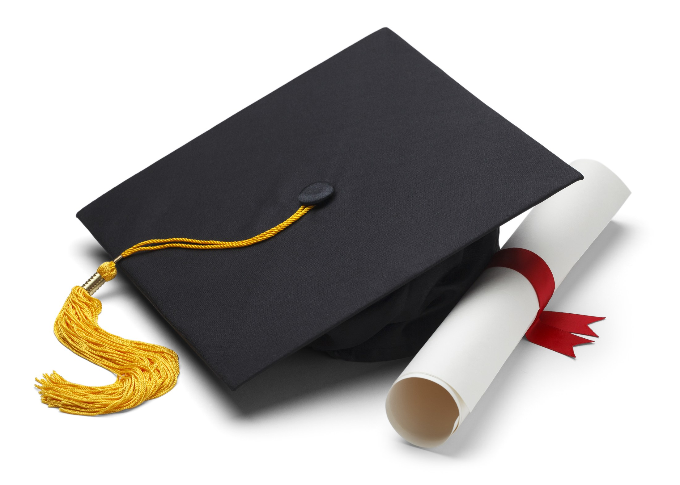 Image of a Cap and Diploma