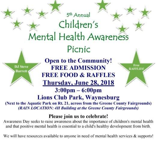 Children's Mental Health Awareness Picnic Thumbnail Image