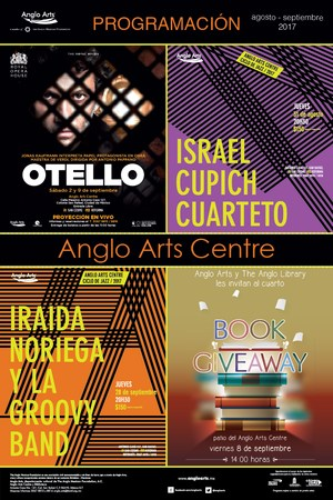 Cartelera Anglo Arts Centre