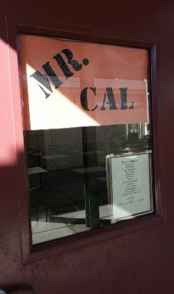 Mr. Cal's Classroom Door