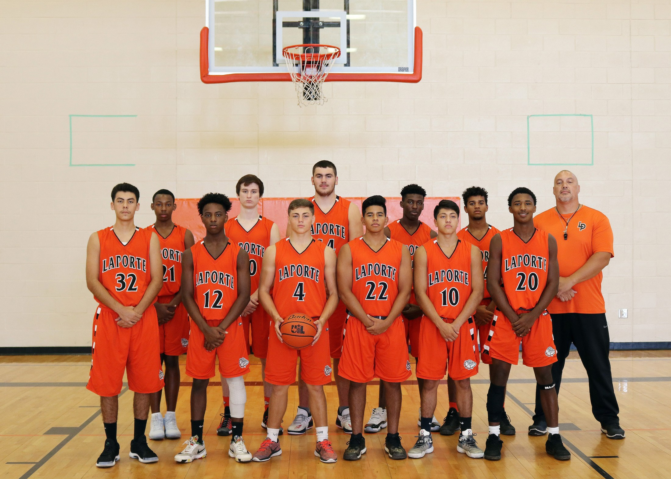 Bulldog basketball boys basketball la porte high school for Laporte schools