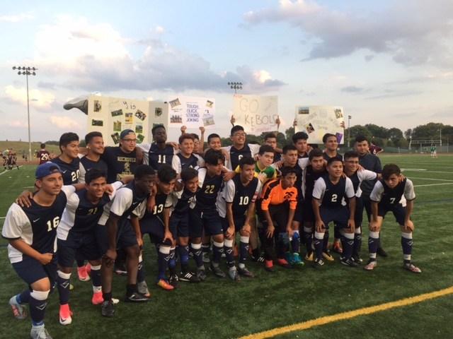 Boys Soccer Team Photo 2017-2018 Season