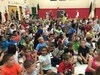 State of the District Address photo of kids in an anti-bullying assembly
