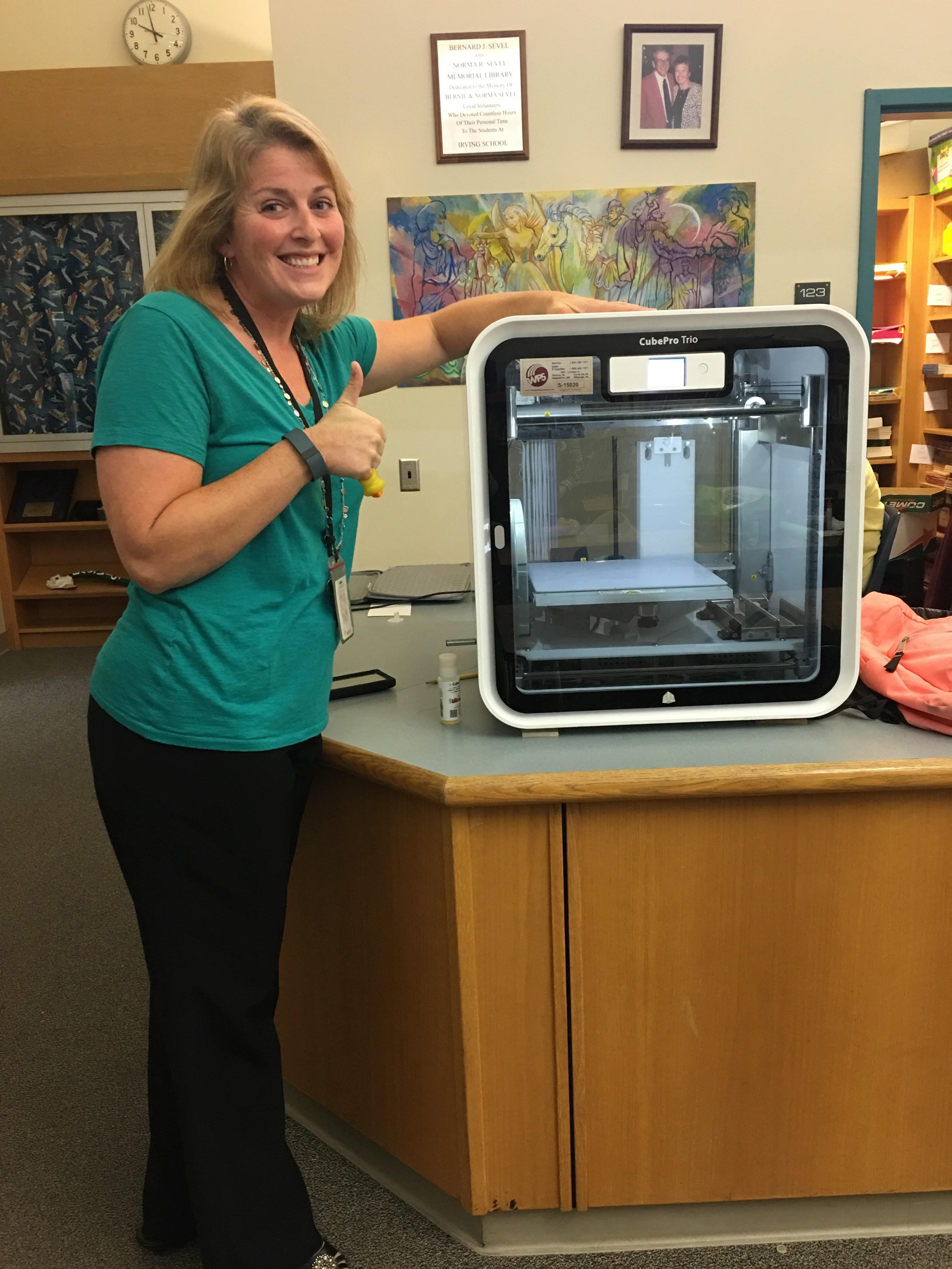Mrs. Chirdon, 3D Printer