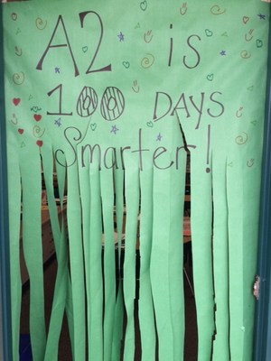 A warm welcome into the 100th day classroom