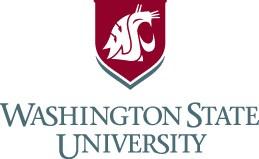 Washington State University logo image links to Washington State University website
