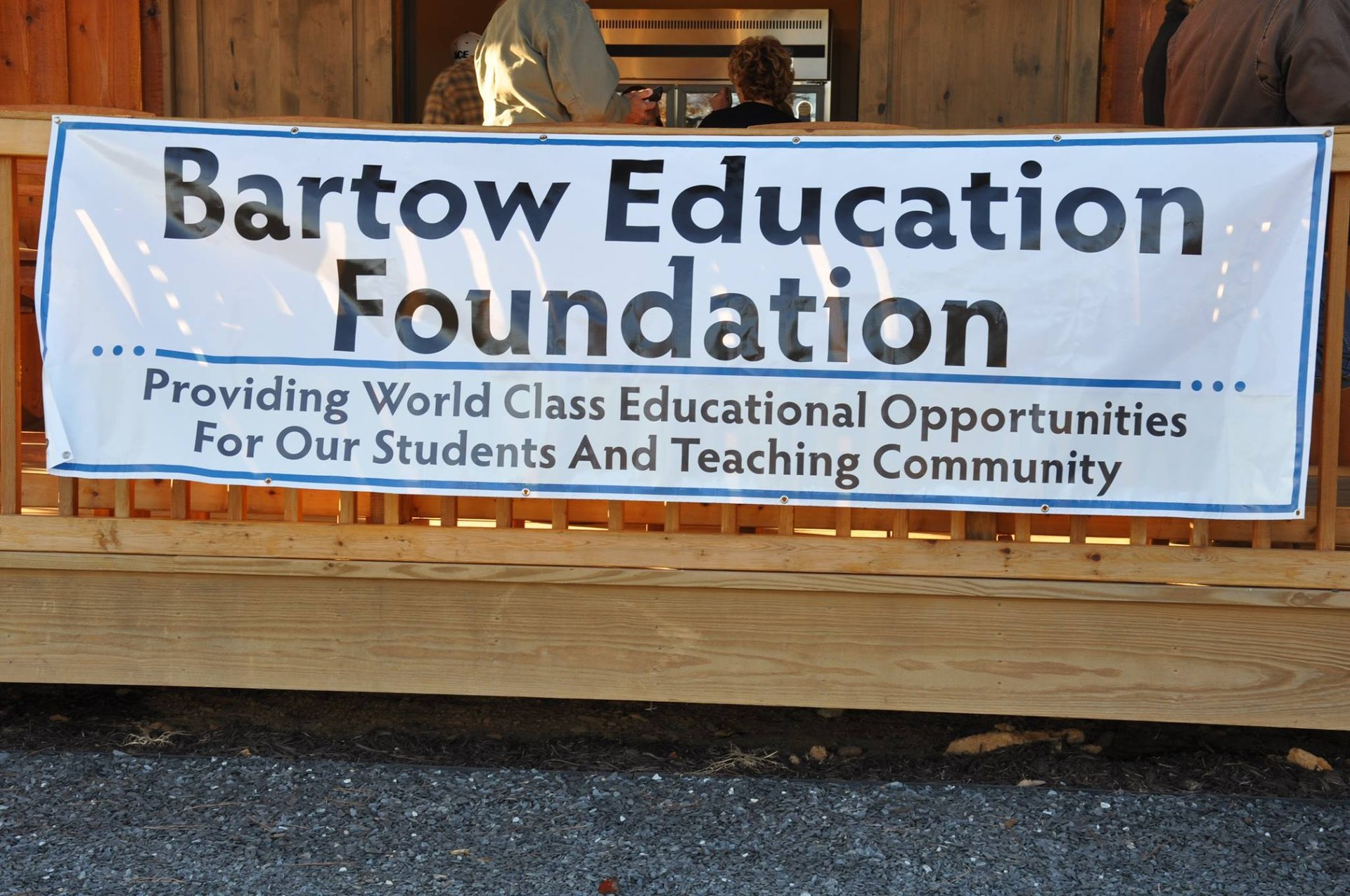 Bartow Education Foundation Banner