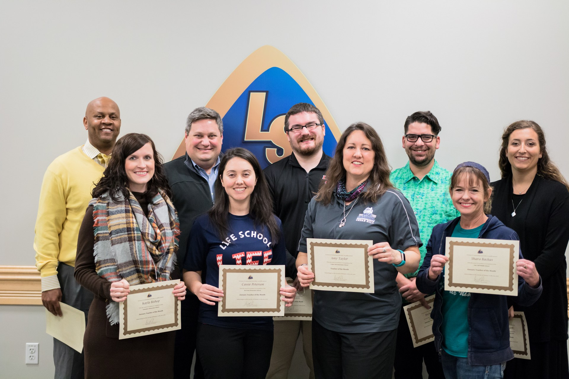 Staff of the Month for January 2018