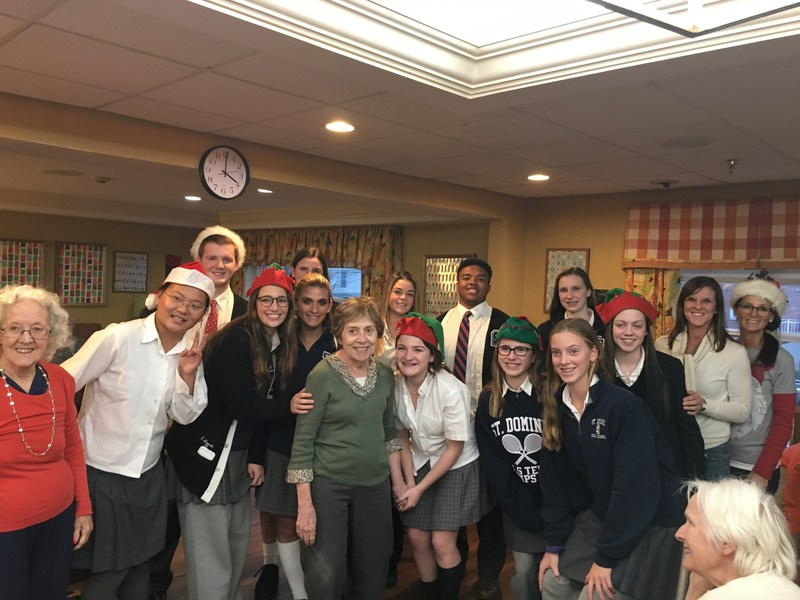 Students Spread Christmas Cheer Featured Photo